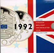 1992 Brilliant Uncirculated Coin Collection
